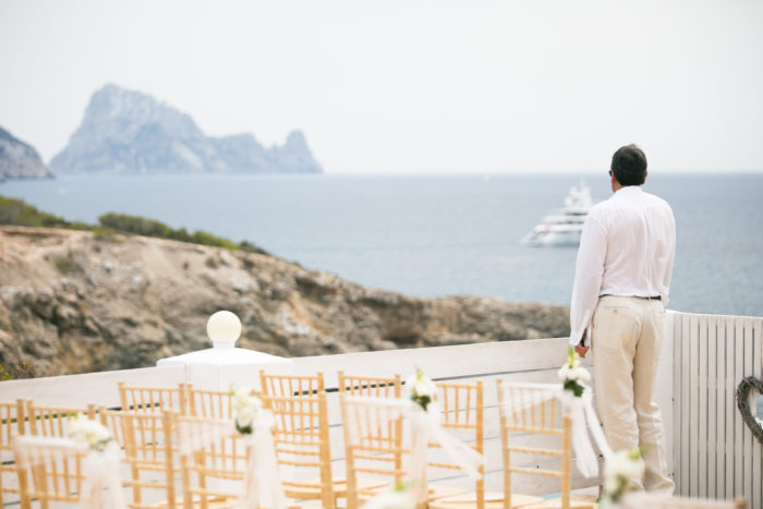 Destination German Photographer Destination Wedding Ibiza White Guests Outfit Bohemian Bridal Decoration White Island Wedding Mediterranean Wedding