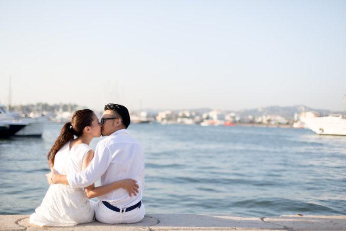 Destination Wedding Ibiza Destination Wedding Photographer German Photographer Ibiza Ibiza Old Town Wedding Love Couple Pictures Romantic Wedding Photography