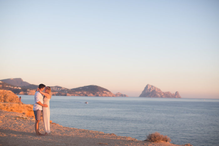 sunset ibiza couple shooting